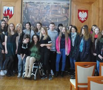 Adrianna Zawadzińska opowiedziała uczniom o pokonywaniu życiowych przeszkód