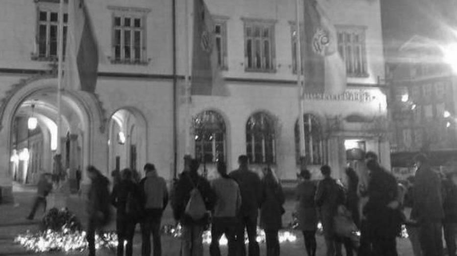 Wrocławianie oddają hołd ofiarom tragedii