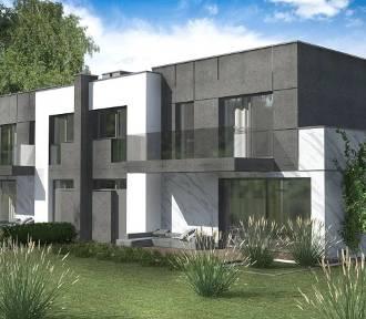 Przestronne i funkcjonalne domy z ogródkiem i garażem w zabudowie bliźniaczej ZDJĘCIA