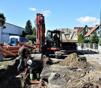 Trwa remont nawierzchni ulicy Sportowej