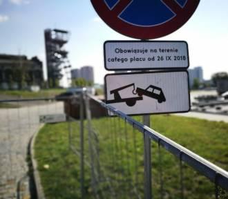 Darmowy parking w Katowicach zamknięty. Gdzie parkować?