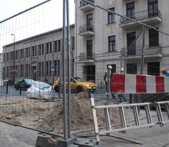 Krakowskie Przedmieście zamknięte