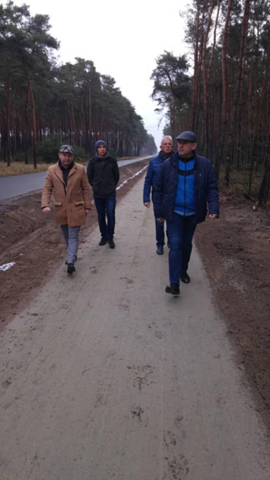 Nowa ścieżka rowerowa Stradyń – Kębłowo