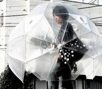 Z takim parasolem ucieszysz się, że pada!