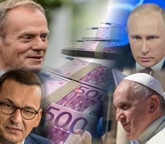 Tyle zarabiają VIP-y [Morawiecki, Tusk, Putin, Gates, papież Franciszek i inni]
