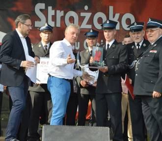 Wręczenie nagród w plebiscycie Strażak Pomorza 2018 Dziennika Bałtyckiego w Szemudzie [ZDJĘCIA,