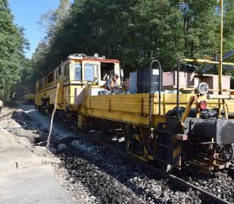PLK remontuje nieczynną linię 142 na południu Katowic. Finał prac jeszcze w tym roku