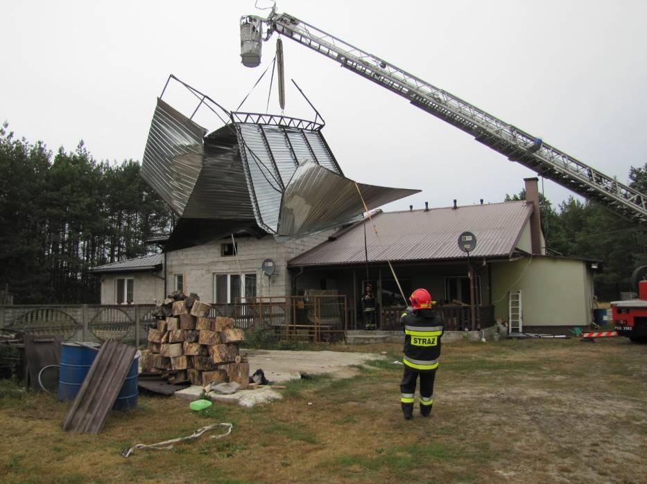Burza w powiecie radomszczańskim