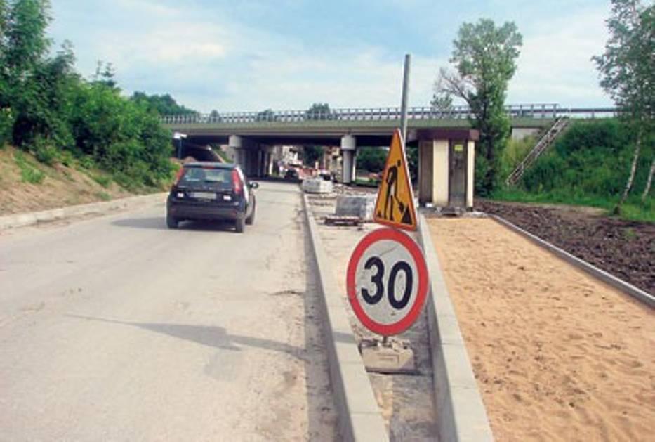 Remont ulicy Fabrycznej w Sławkowie potrwa do września tego roku