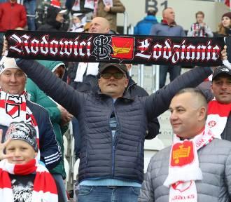 ŁKS Łódź wygrał 4:1, kibice szaleli na trybunie (ZDJĘCIA)