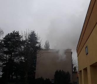 Pożar sadzy w budynku 4-rodzinnym