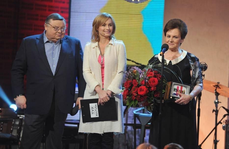 Danuta Wałęsa podczas wręczenia Gwarancji Kultury 2012