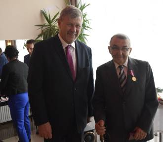 Doktor Stefan Mrówczyński z Ciechocinka z medalem prezydenta RP