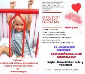 Serce dla Oli z gminy Kleczew