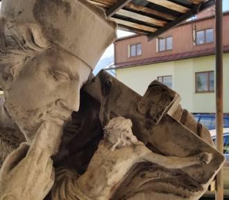 300- letni pomnik będzie jak nowy! Kończy się jego restaurowanie [ZDJĘCIA]