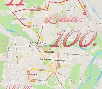 Specjalna linia MZK nr 100 na Święto Niepodległości