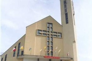 Kościół Podwyższenia Krzyża Świętego, Kraków, ul. Witosa 9, telefon i godziny mszy