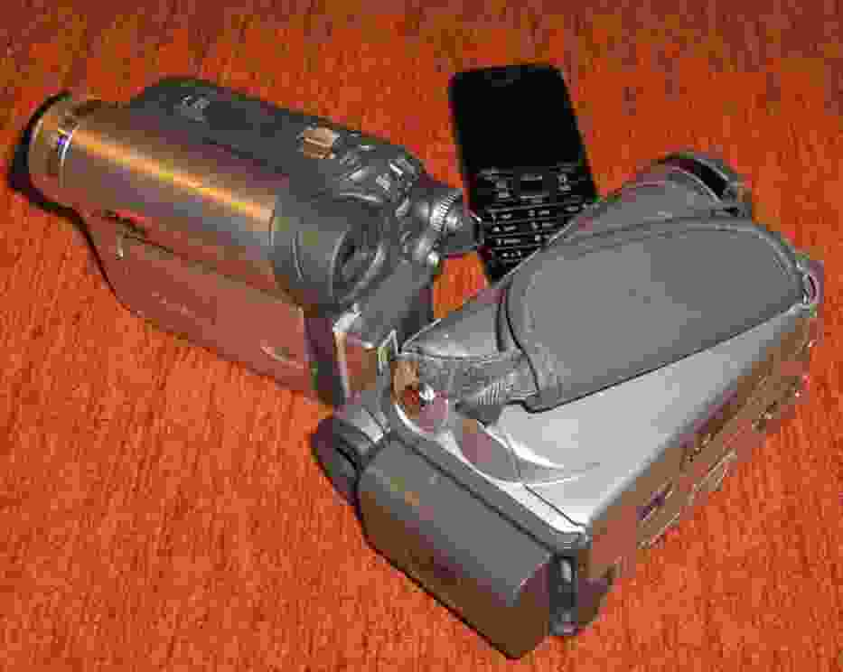 Kamery video i telefon komórkowy