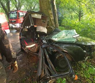 Śmiertelny wypadek na trasie Połęczyno - Grabowska Huta