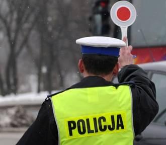 Nie chciał zatrzymać się do policyjnej kontroli, bo... nie miał czasu