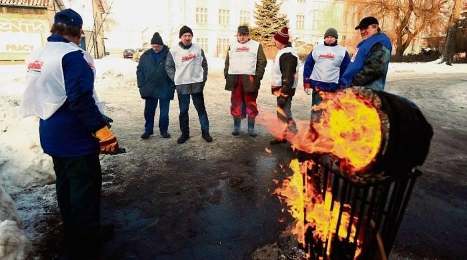 Pracownicy ZNTK niedawno strajkowali
