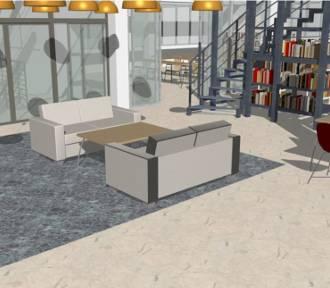 Tak będzie wyglądać biblioteka we Włocławku po remoncie