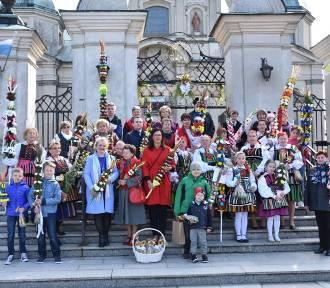 Niedziela Palmowa z konkursem na najładniejszą palmę w Poświętnem FOTO