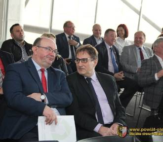 Powiat oleśnicki: Rozmawiali o komunikacji aglomeracyjnej