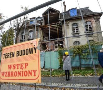 Runęła część zabytkowej willi przy Orzeszkowej w Gdańsku!