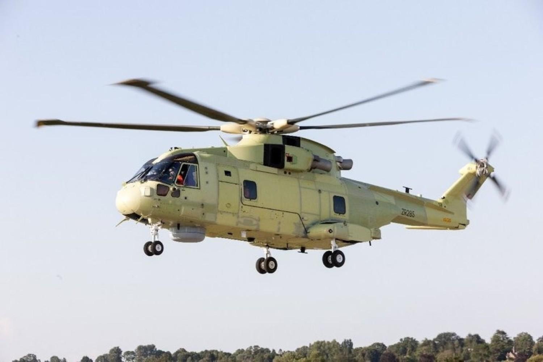 Pierwszy śmigłowiec dla Marynarki Wojennej RP już po testowym locie