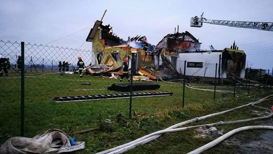 Dom pana Wojciecha i jego dziewczyny spłonął doszczętnie
