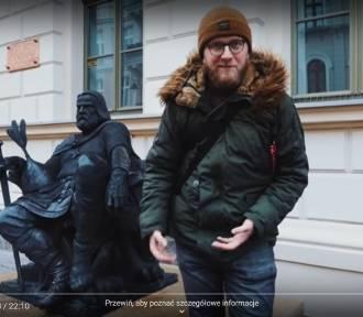 """Podróżnicy z """"Busem przez świat"""" odwiedzili Gniezno. Zobacz, jak promują nasze miasto! [FILM]"""