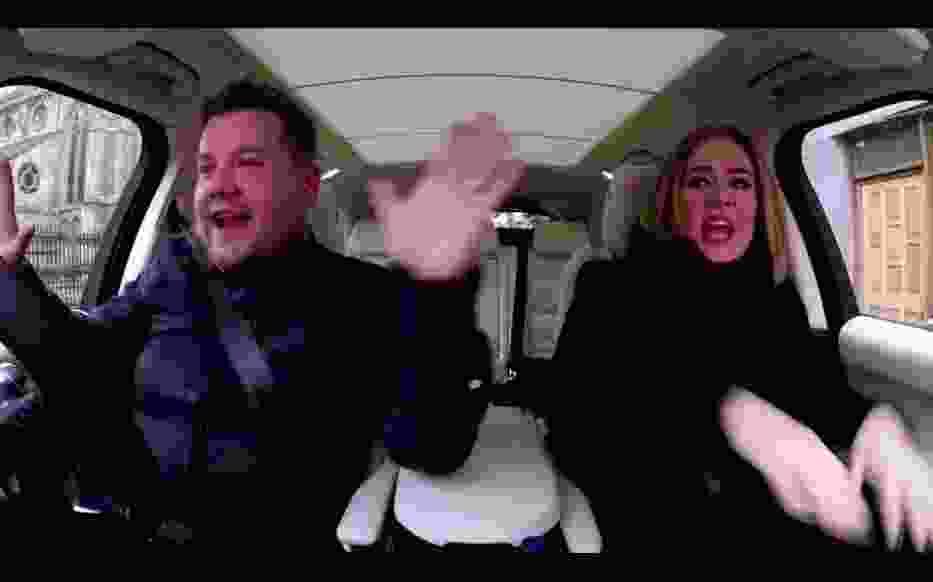 Kolejny hit Adele! Tym razem śpiewa... Spice Girls i to w samochodzie