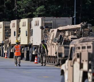 Amerykańska armia ćwiczy na naszych drogach. Możecie natknąć się na taki oto widok