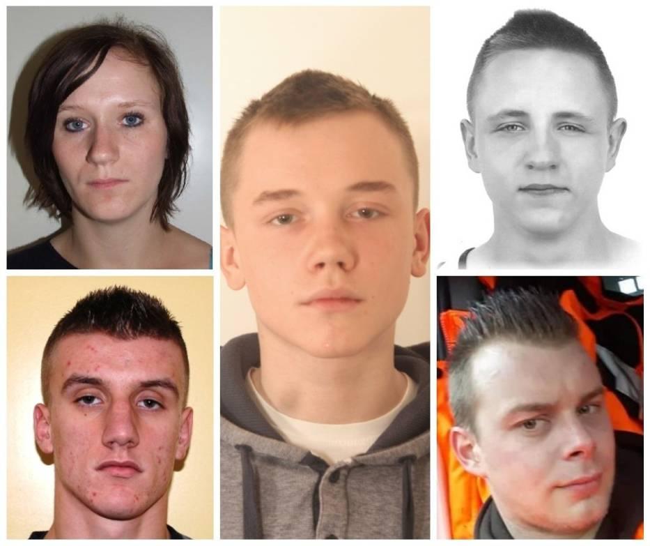 Młodzi przestępcy poszukiwani przez policję