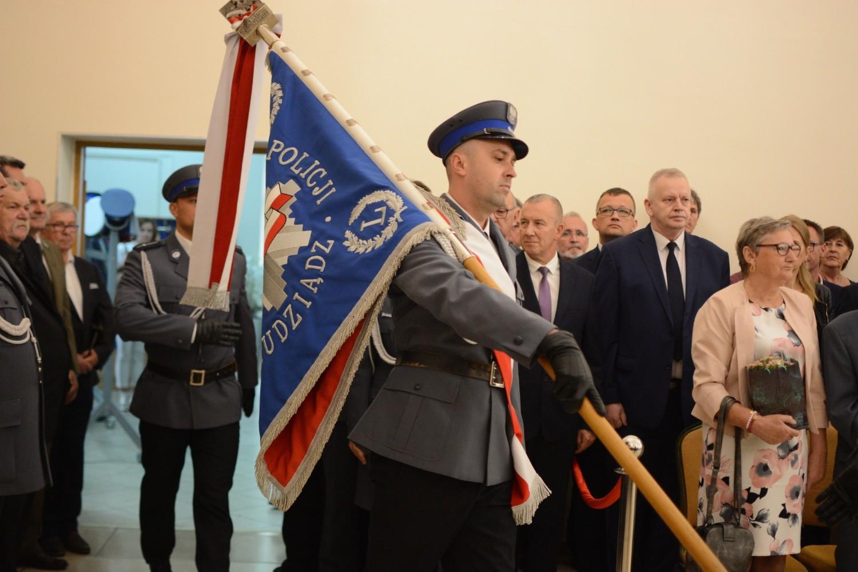 Święto policji w Grudziądzu. Były awanse funkcjonariuszy i festyn dla mieszkańców [zdjęcia]