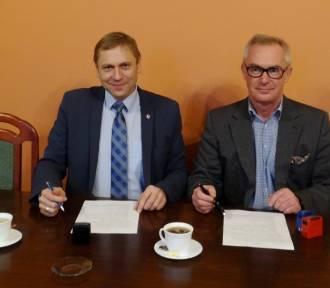 Starosta i Wójt Gminy Łęczyca podpisali list intencyjny w sprawie...