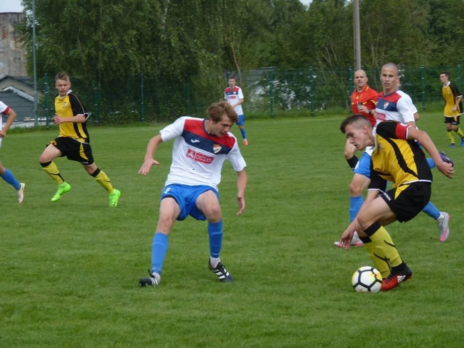 Akademia Sportu Zryw Kretomino uległa Gwardii Koszalin 0:2