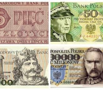 Oto banknoty z PRL-u: od 2 zł do 5 milionów. Pamiętasz je jeszcze?