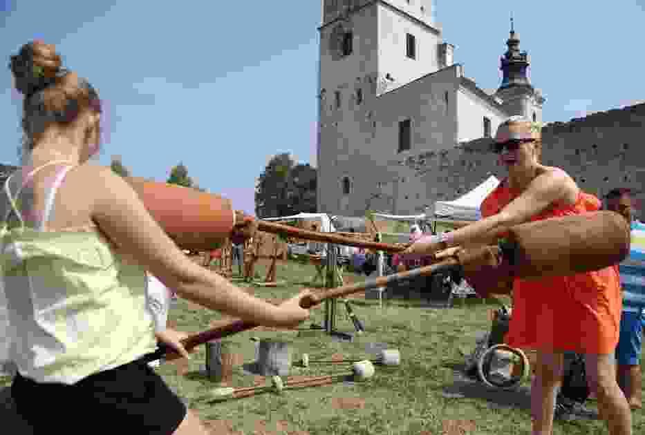 Maraton imprezowy w Sulejowie 2017