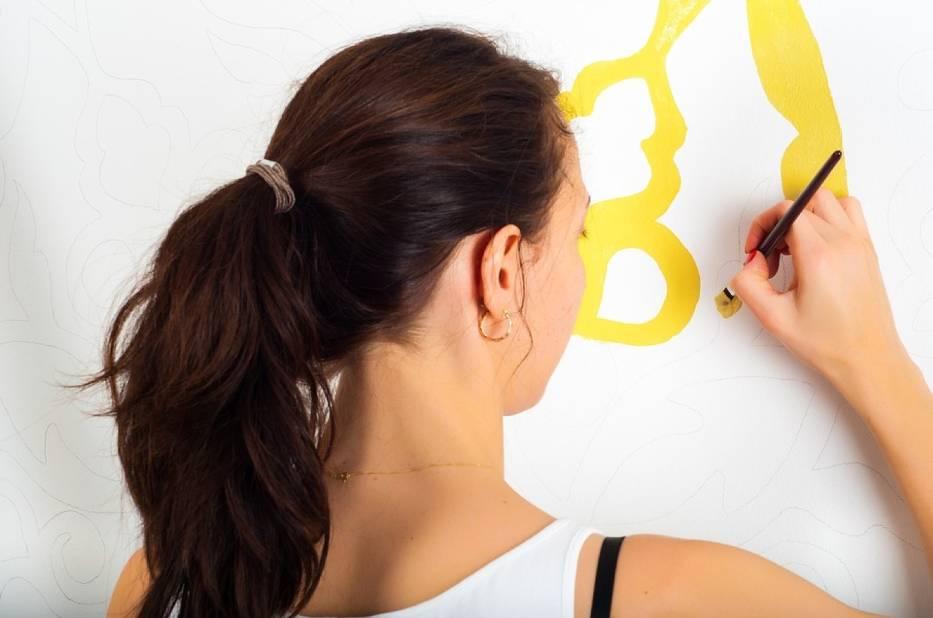 Jak wyczyścić ściany z rysunków