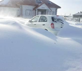W woj. lubelskim śnieżyce i siarczyste mrozy