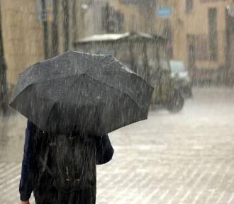 Uwaga! Intensywne opady deszczu - ostrzeżenie dla powiatu