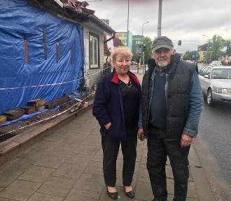 Właściciele domu zniszczonego przez wóz strażacki wciąż w szoku