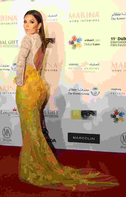 Piękna Eva Longoria w Dubaju