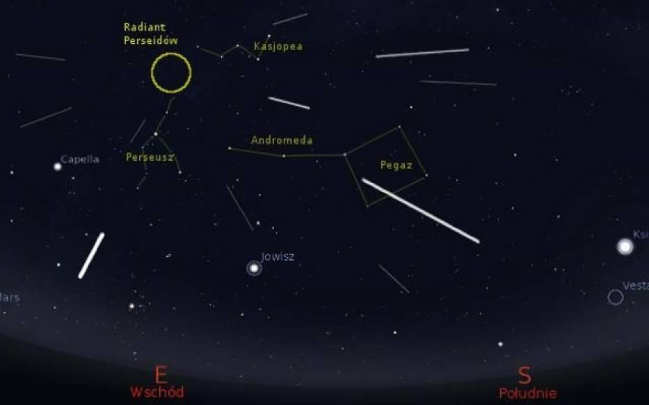 Zobacz Perseidy przed Planetarium Śląskim