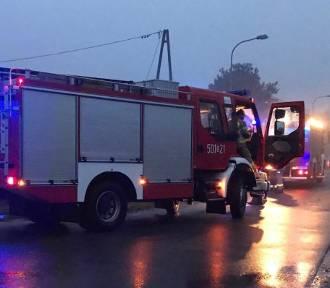 Pożar pustostanu w Pucku opanowany | NADMORSKA KRONIKA POLICYJNA