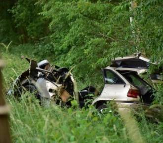 Tragiczny wypadek w okolicy Nowego Gorzycka - nie żyją dwie osoby