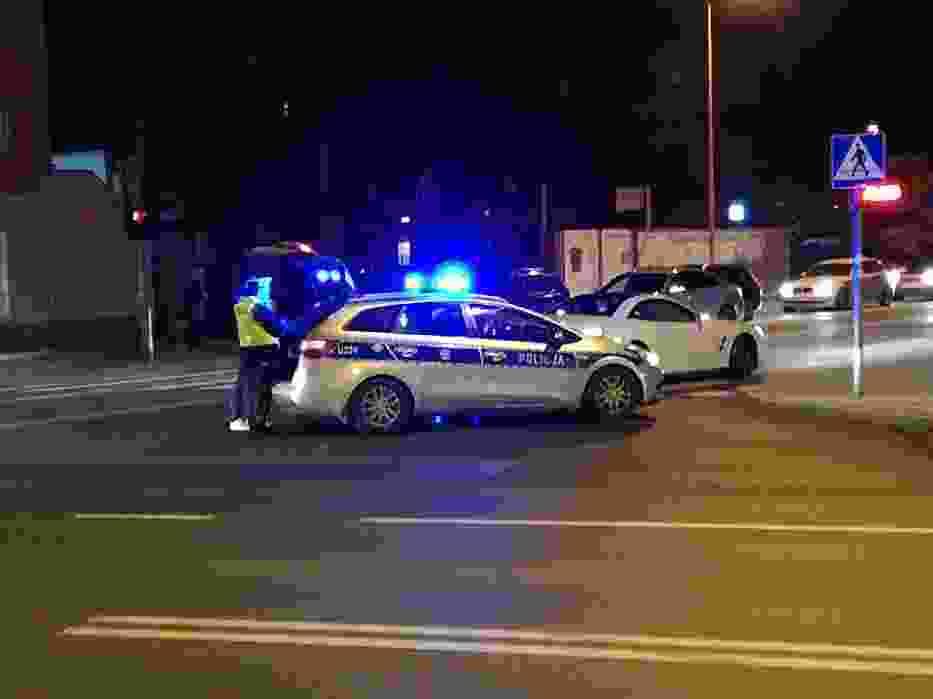 Potrącenie pieszej na ulicy Polnej w Kaliszu