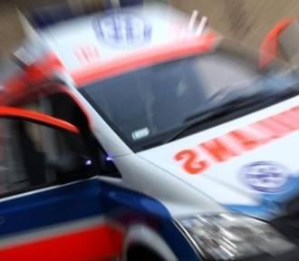 Wypadek w Wolbromiu. Dwa samochody osobowe zderzyły się na DW 794